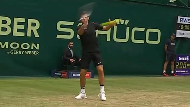 Wahnsinn! Dominic Thiem wieder im Viertelfinale (Bild: twitter.com)