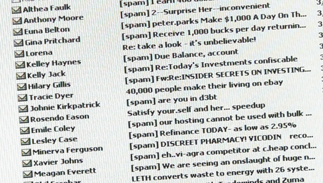 BKA warnt vor gefährlicher Spam-Welle (Bild: AFP)