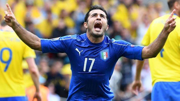 1:0 vs. Schweden! Italien marschiert munter weiter (Bild: APA/AFP/VINCENZO PINTO)