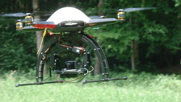 Drohnen sollen Rehkitze vor dem Mähtod bewahren (Bild: hafl.bfh.ch)