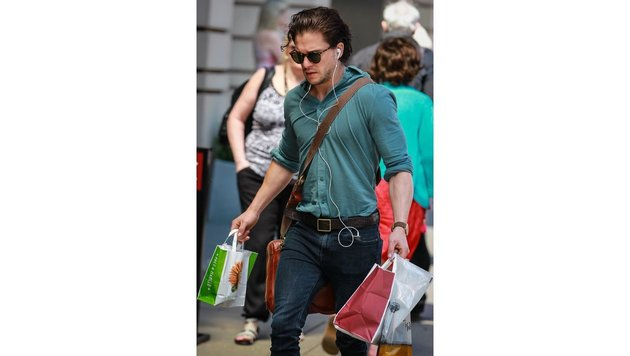 Kit Harington beim Shoppen (Bild: Viennareport)