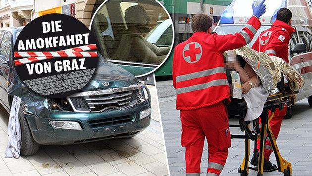 """Amokfahrt in Graz: Prozesstermin nun fix! (Bild: Chrisitan Jauschowetz, """"Krone"""")"""