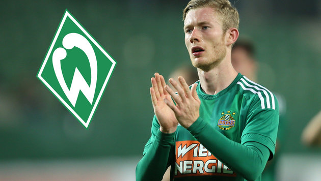 Fix! Florian Kainz verlässt Rekordmeister Rapid (Bild: GEPA, Werder Bremen)