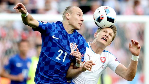 """Kroaten schenken """"klinisch toten"""" Tschechen Remis! (Bild: AP)"""