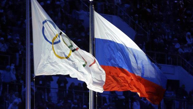 Russische Leichtathleten von Olympia ausgesperrt (Bild: The Associated Press)