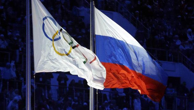 Russlands Leichtahleten für Olympia gesperrt (Bild: Associated Press)
