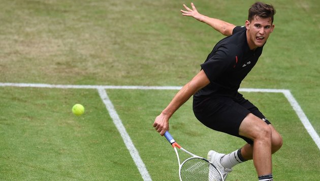 Thiem schon im Semifinale! Der Gegner gab w.o. (Bild: APA/AFP/CARMEN JASPERSEN)