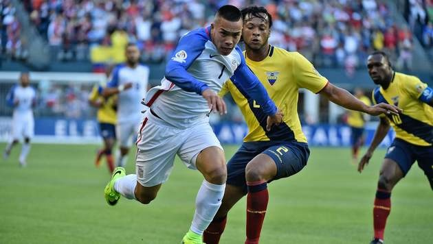 USA erster Halbfinalist der Copa America (Bild: AFP)