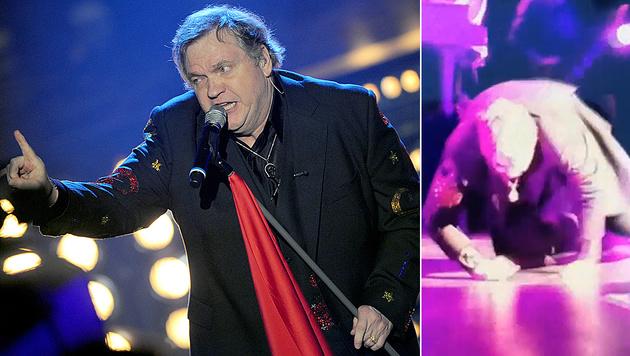 Meat Loaf brach während eines Konzerts in Kanada auf der Bühne zusammen. (Bild: APA/dpa/Patrick Seeger, twitter.com/WilsonsWorld)