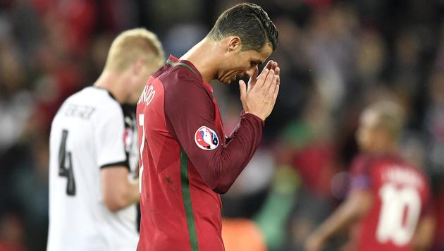 Spinnenmann Almer rettet Remis gegen Portugal! (Bild: AP)