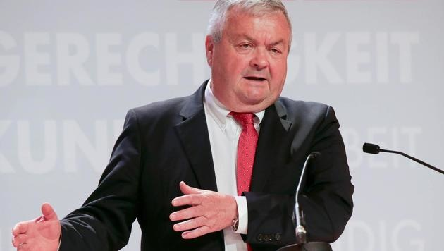 Interims-Vorsitzender Johann Kalliauer (Bild: FOTOKERSCHI.AT)
