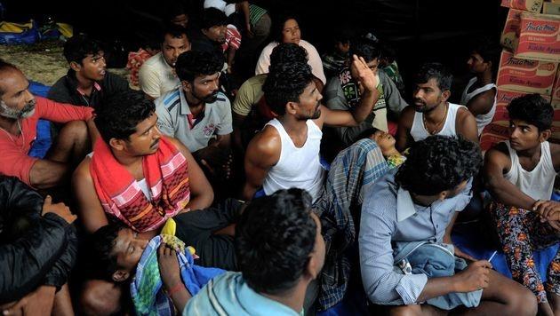 Heuer 300.000 Migranten aus Libyen nach Europa (Bild: AFP)
