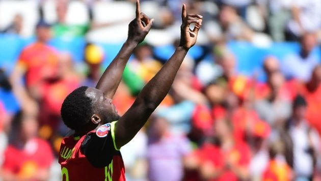 Erneut darf Romelu Lukaku seinen Treffer bejubeln (Bild: AFP)