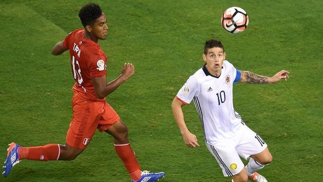 Kolumbien nach Elferschießen im Halbfinale (Bild: AFP)