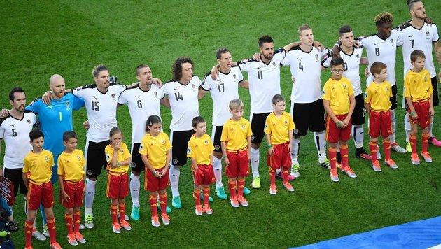 Österreich-Gruppe: Die Lage vor der letzten Runde (Bild: APA/AFP/MIGUEL MEDINA)