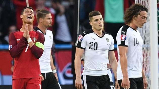 Spinnenmann Almer rettet Remis gegen Portugal! (Bild: AFP)