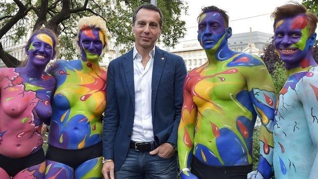 Wien wird 2019 erneut Europas Regenbogenhauptstadt (Bild: APA/Hans Punz)