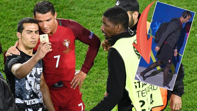 Ronaldo, wir wissen, dass du Strapse trägst! (Bild: AFP or licensors)