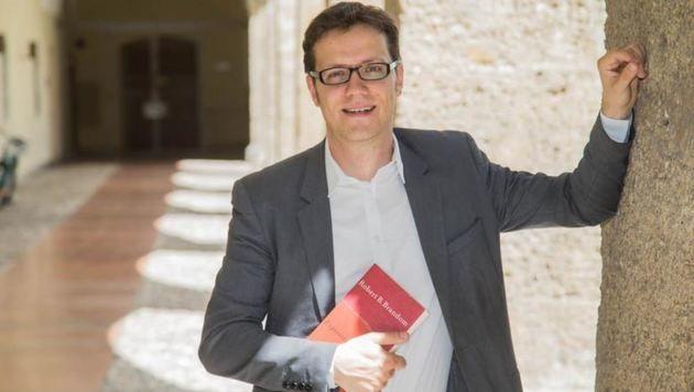 """""""Glaube soll sich nicht abkapseln"""", wünscht sich  Martin Dürnberger einen offenen Zugang. (Bild: Franz Neumayr)"""