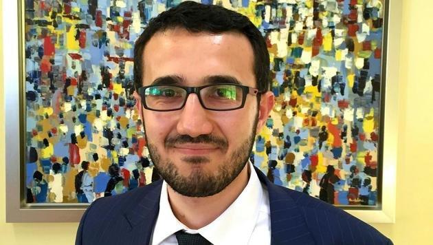 Ibrahim Olgun (28) ist der neue Präsident der Islamischen Glaubensgemeinschaft in Österreich. (Bild: APA/IGGIÖ)