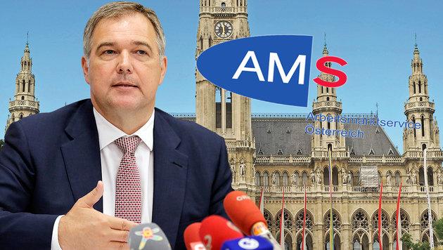 Wien: Arbeitslosenzahlen werden weiter explodieren (Bild: Klemens Groh, Rathaus Wien, AMS)