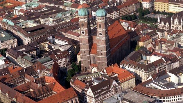 Die Frauenkirche in München (Bild: dpa)