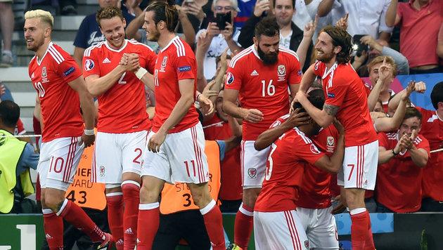 Wales spaziert mit 3:0-Erfolg zum Gruppensieg (Bild: APA/AFP/REMY GABALDA)