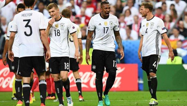 """Das ist ja Comedy!"" DFB-Stars toben nach Kritik (Bild: APA/AFP/FRANCK FIFE)"
