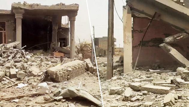 Erstes Video zeigt die Zerst�rungen in Falludscha (Bild: twitter.com)