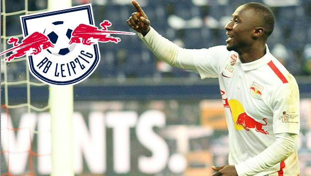 Herber Verlust: Salzburgs Keita geht zu RB Leipzig (Bild: APA/KRUGFOTO)