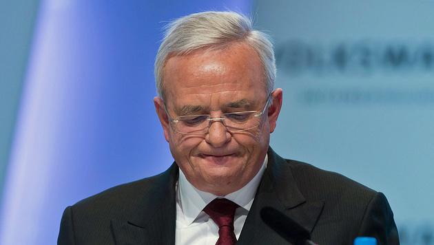 VW-Abgasskandal: Nun Ermittlungen gegen Winterkorn (Bild: APA/AFP/JOHANNES EISELE)