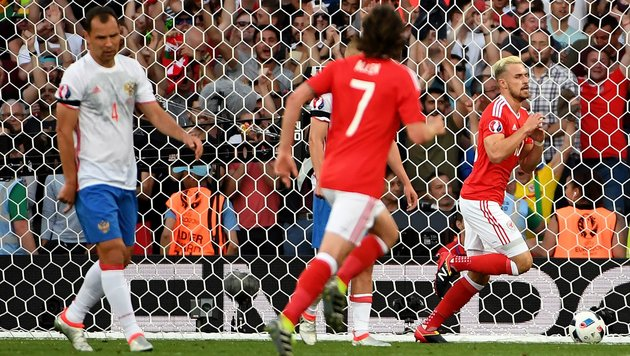 Wales spaziert mit 3:0-Erfolg zum Gruppensieg (Bild: APA/AFP/PASCAL GUYOT)
