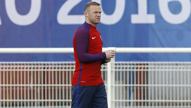 Rooney bei ManU & bei Three Lions am Abstellgleis (Bild: AP)