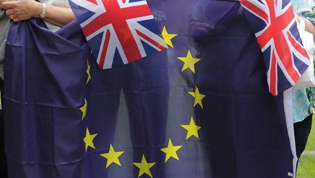 46 Millionen britische Wähler stimmen am Donnerstag über den Ausstieg ihres Landes aus der EU ab. (Bild: AFP)