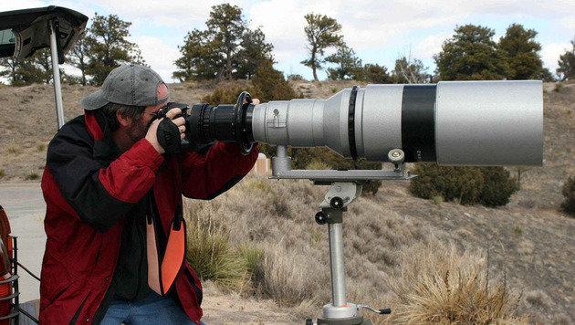 Dieses 32-Kilo-Objektiv der NASA steht zum Verkauf (Bild: Jim Headly)