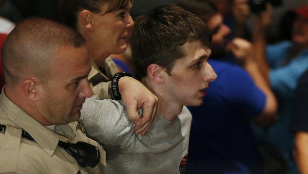 Der 19-j�hrige Michael S. bei seiner Verhaftung in Las Vegas (Bild: Associated Press)