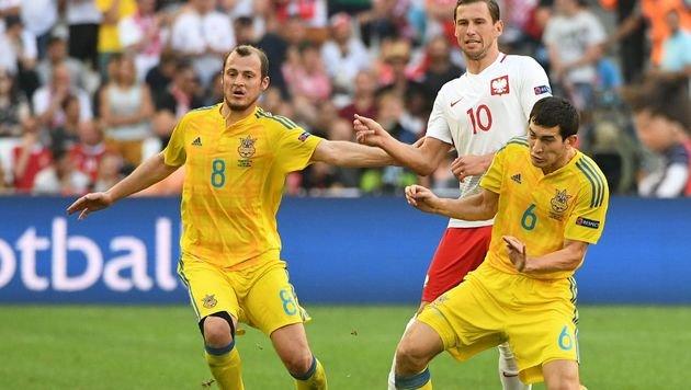 Polen nach 1:0-Sieg gegen Ukraine im Achtelfinale (Bild: AFP or licensors)