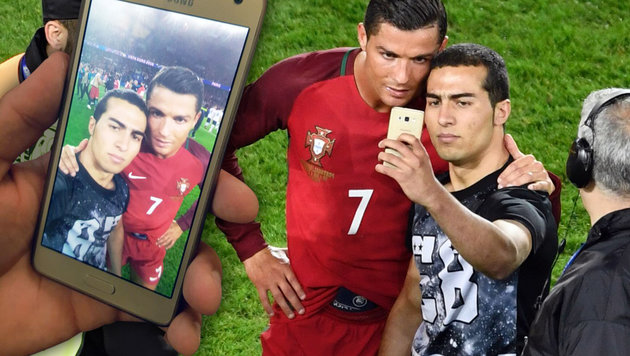 WAC klärt auf: Ronaldo-Selfie wurde nicht gelöscht (Bild: APA/AFP/MIGUEL MEDINA, twitter.com)