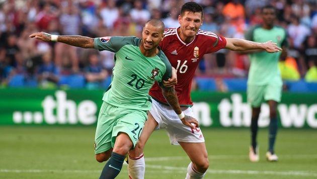 Portugal nach 3:3 gegen Ungarn im Achtelfinale (Bild: AFP or licensors)