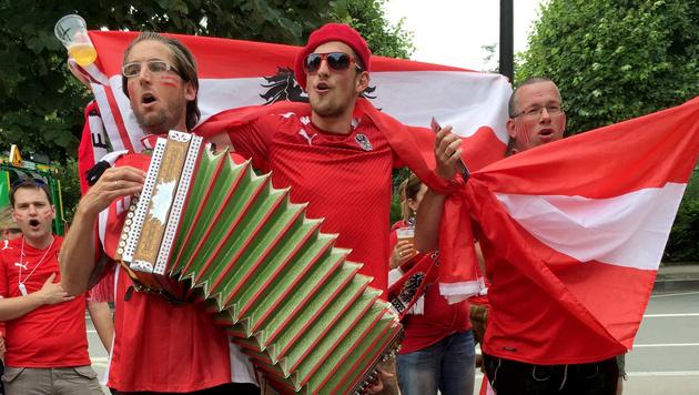 Island - Österreich: Der Liveticker zum Nachlesen (Bild: APA/JOHANNES BRUCKENBERGER)