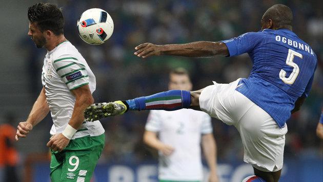 Italien verliert mit B-Elf gegen Irland 0:1 (Bild: AP)