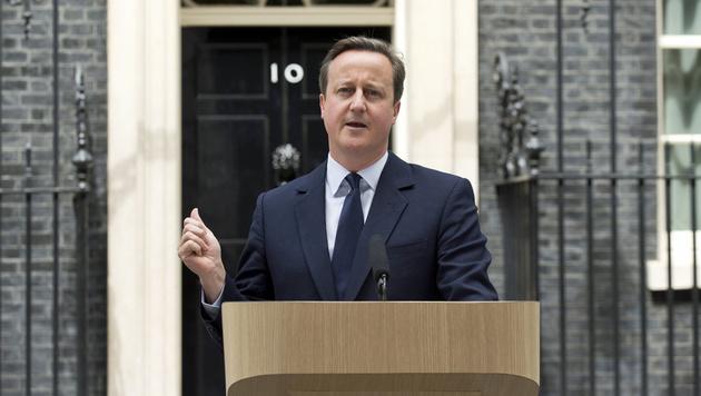 """Cameron: """"Es gibt kein Zurück."""" (Bild: Associated Press)"""