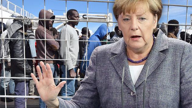 Asylpolitik: Merkel gibt erstmals eigene Fehler zu (Bild: APA/AFP/GIOVANNI ISOLINO, EPA/WOLFGANG KUMM)