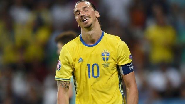 Belgien schickt Ibrahimovic in die Team-Pension (Bild: APA/AFP/BULENT KILIC)