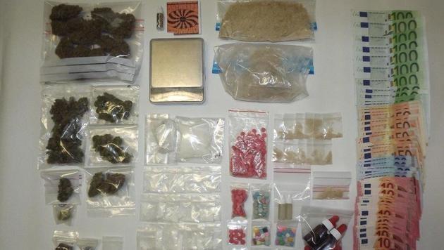 Drogen um eine Mio. Euro verkauft: Bande gefasst (Bild: APA/LPD Burgenland)