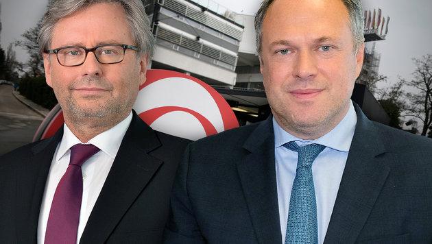Grasl gegen Wrabetz: Startschuss zum ORF-Duell (Bild: APA/GEORG HOCHMUTH, ORF/Thomas Ramstorfer, ORF/Hans Leitner)