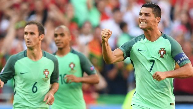 Portugal nach 3:3 gegen Ungarn im Achtelfinale (Bild: AFP)
