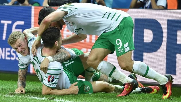 Italien verliert mit B-Elf gegen Irland 0:1 (Bild: AFP)