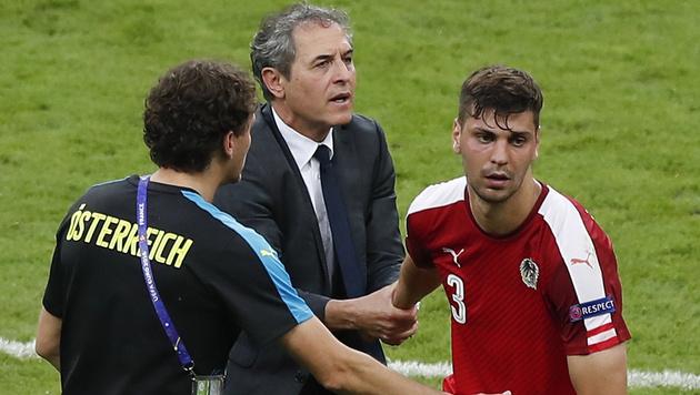 Hickersberger: Seine Abrechnung mit dem Team (Bild: AP)