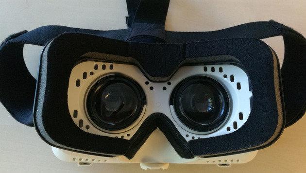 Neu in Österreich: Cyberbrille Noon VR im Test (Bild: Dominik Erlinger)
